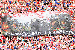 03.06.2011, Poljud, Split, CRO, UEFA EURO 2012, Qualifikation, Croatian vs Georgia, im Bild Fans. EXPA Pictures © 2010, PhotoCredit: EXPA/ nph/ Pixsell ***** out of GER / SWE / CRO  / BEL ******