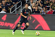 LAFC forward Carlos Vela (10) in action during the game against the Houston Dynamo in a MLS soccer game. The LAFC defeated the Houston Dynamo 3-1 on Wednesday, Sept 25, 2019, in Los Angeles. (Ed Ruvalcaba/Image of Sport)