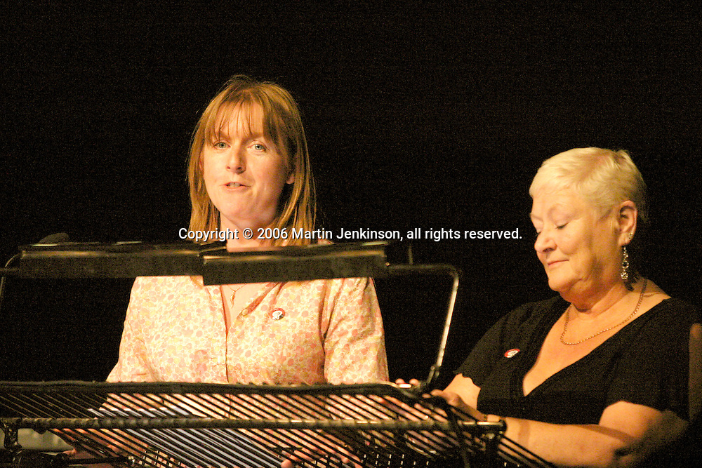 Ann Lavelle and Denise Fitzpatrick. In praise of an English radical - A Celebration of Linda Smith, Lyceum Theatre Sheffield.