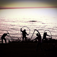 Jocelyn Gordon Hoop Yogini at Esalen