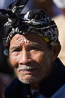 Portrait of a Balinese man at the Pura Besakih Temple on Bali