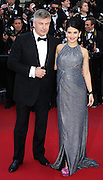 "Hilaria Thomas; Alec Baldwin attends ""Blood Ties"" Red Carpet  during the 66th Annual Cannes Film Festival at the Palais des Festivals on May 20, 2013 in Cannes, France.."