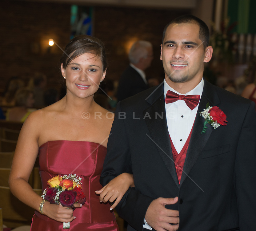 couple at a wedding reception