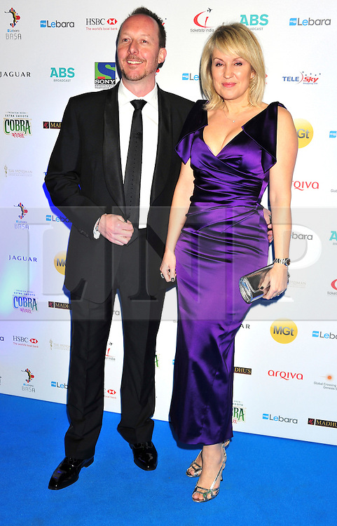 © under license to London News Pictures. 04/03/11.Dave Shackleton and Nicki Graham attend Lebara British Asian Sports Awards , Saturday 5th March 2011 at the Grosvenor House Hotel, Park Lane, London. Photo credit should read alan roxborough/LNP