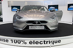 Electric sports car Exagon on display at Paris Motor Show 2010