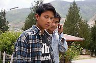 Boys<br /> <br /> at a school in Thimphu, Bhutan