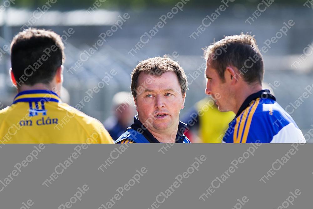 Clare Junior Football Manager Joe Garry