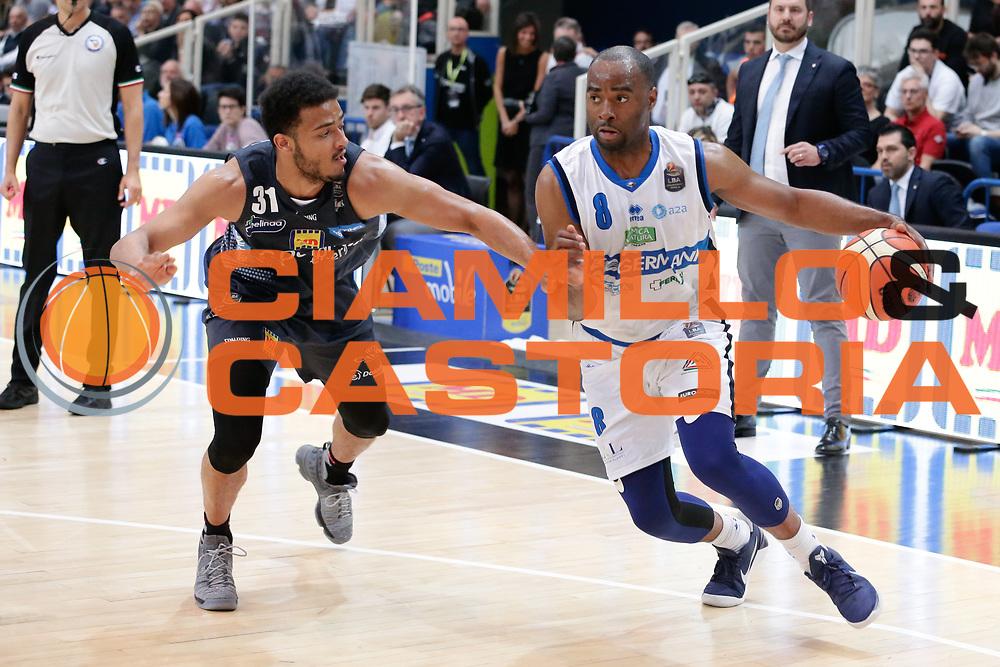 Landry Marcus<br /> Dolomiti Energia Aquila Basket Trento - Germani Basket Brescia Leonessa<br /> Lega Basket Serie A 2016/2017<br /> PalaTrento, 23/04/2017<br /> Foto Ciamillo-Castoria / M. Brondi