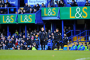 AFC Bournemouth manager Eddie Howe on the touch line during the The FA Cup fourth round match between Portsmouth and Bournemouth at Fratton Park, Portsmouth, England on 30 January 2016. Photo by Graham Hunt.