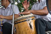 Dancing traditional rhythms like Bomba and Plena