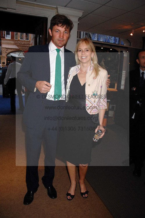 ANTHONY and the HON.MRS FANSHAW she was Georgie Channon at the Sotheby's Summer Party 2007 at their showrooms in New Bond Street, London on 4th June 2007.<br /><br />NON EXCLUSIVE - WORLD RIGHTS