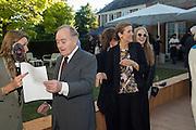 LORD PALUMBO; LADY HAYAT PALUMBO, Party  to celebrate Julia Peyton-Jones's  25 years at the Serpentine. London. 20 June 2016