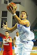 DESCRIZIONE : Cipro European Basketball Tour Italia Polonia Italy Poland<br /> GIOCATORE : Stefano Mancinelli<br /> CATEGORIA : Tiro<br /> SQUADRA : Nazionale Italia Uomini <br /> EVENTO : European Basketball Tour <br /> GARA : Italia Polonia <br /> DATA : 07/08/2011 <br /> SPORT : Pallacanestro <br /> AUTORE : Agenzia Ciamillo-Castoria/GiulioCiamillo<br /> Galleria : Fip Nazionali 2011 <br /> Fotonotizia :  Cipro European Basketball Tour Italia Polonia Italy Poland<br /> Predefinita :
