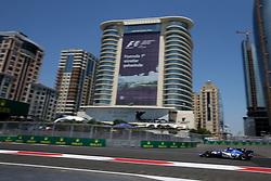 June 23, 2017 - Baku, Azerbaijan - Motorsports: FIA Formula One World Championship 2017, Grand Prix of Europe, .#94 Pascal Wehrlein (GER, Sauber F1 Team) (Credit Image: © Hoch Zwei via ZUMA Wire)