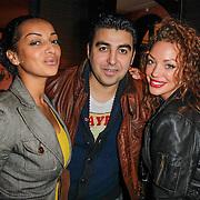 NLD/Amsterdam/20120416 - Lancering Fatima Magazine, Mimoun Oled Radi, Laila Kricha en Dorien Rose Duinker