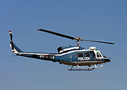 Italian Police helicopter Polizia PS-104 Agusta AB-212 Photographed in Milan, Italy