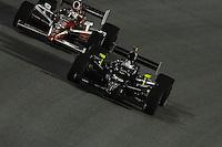 Ed Carpenter, Scott Dixon, Cafes do Brasil Indy 300, Homestead Miami Speedway, Homestead, FL USA,10/2/2010