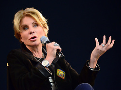 American crime writer Patricia Cornwell appears at Apple's Regent Street store to discuss her new book Dust, at Apple Store, 235 Regent Street, London, United Kingdom. Tuesday, 17th December 2013. Picture by Nils Jorgensen / i-Images