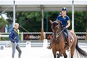 Jeanna Hogberg - Darcia & Patrik Kittel<br /> Alltech FEI World Equestrian Games™ 2014 - Normandy, France.<br /> © Hippo Foto Team - Leanjo de Koster<br /> 25/06/14