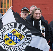 10th April 2018, Tannadice Park, Dundee, Scotland; Scottish Championship football, Dundee United versus St Mirren; St Mirren fans