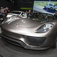 Porsche 918 Spyder at the Geneva Motorshow 2 March 2010