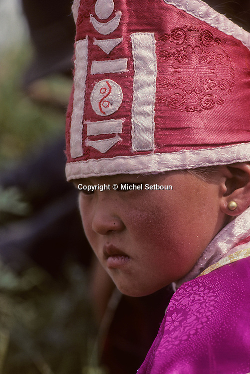 Mongolia. family in   Milhii Had       / une famille  Milhii Had  Mongolie   / L921007a  /  85