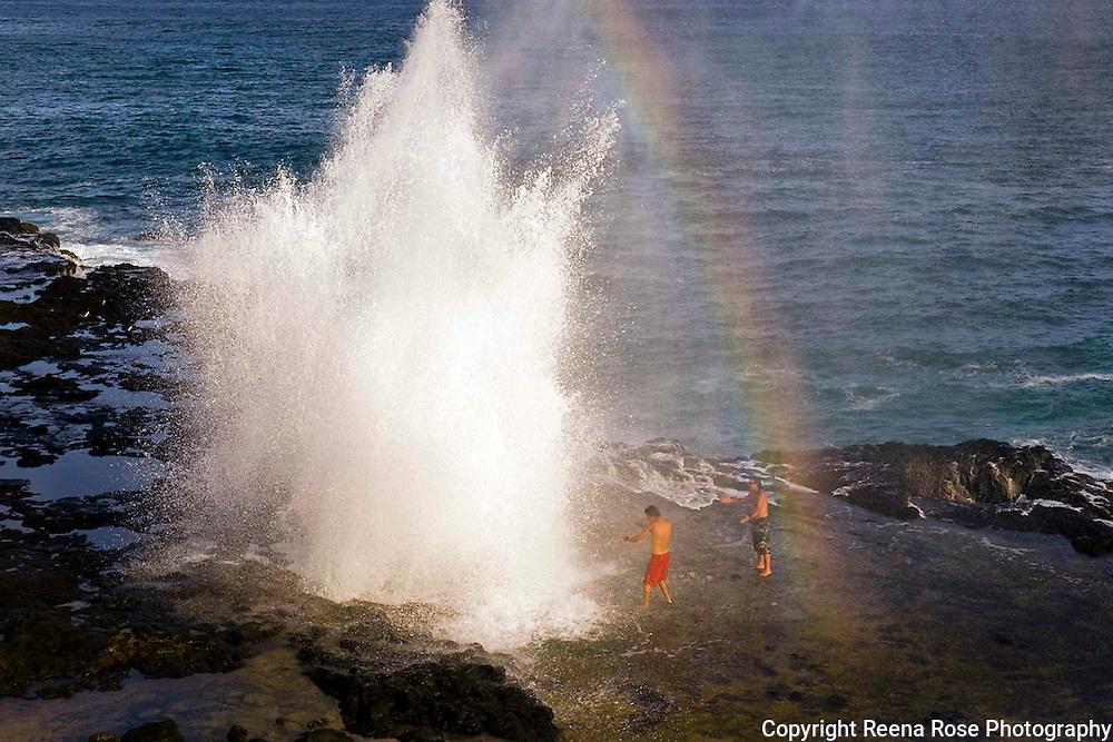 Spouting Horn, Koloa, Kauai, Hawaii
