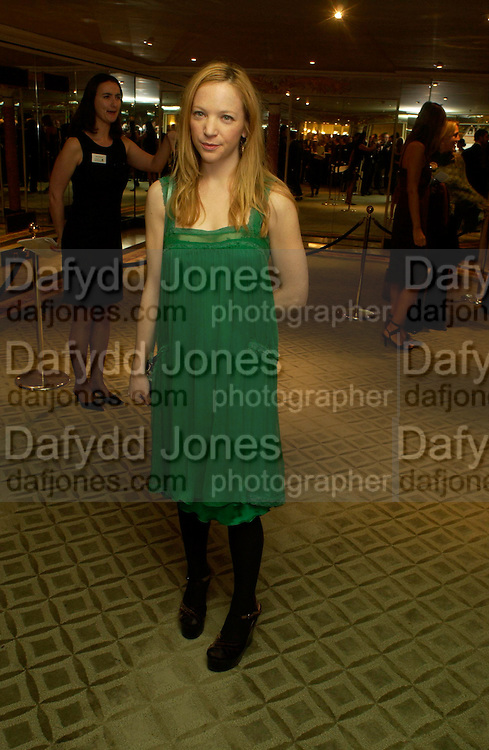 Nathalie Press. 25th  annual Awards of the London critic's Circle in aid of the NSPCC. The Dorchester. Park Lane. London. 9 February 2005. ONE TIME USE ONLY - DO NOT ARCHIVE  © Copyright Photograph by Dafydd Jones 66 Stockwell Park Rd. London SW9 0DA Tel 020 7733 0108 www.dafjones.com