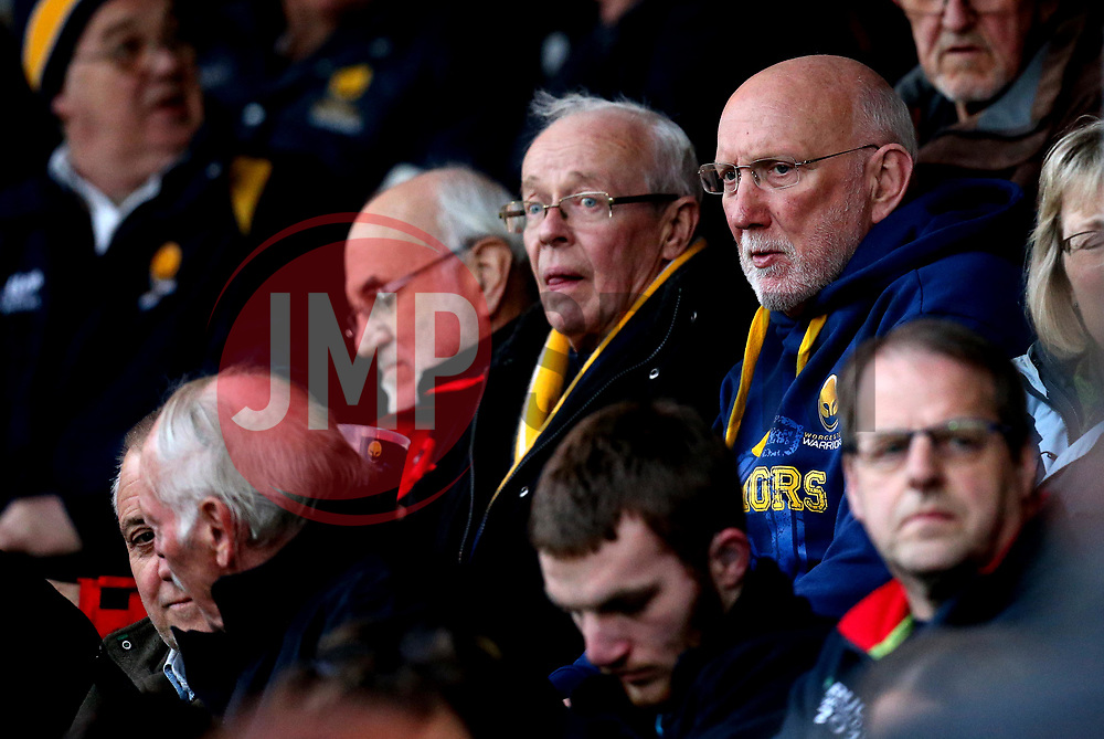 Worcester Warriors fans in attendance at the Worcester Cavaliers v Wasps A fixture - Mandatory by-line: Robbie Stephenson/JMP - 03/04/2017 - RUGBY - Sixways Stadium - Worcester, England - Worcester Cavaliers v Wasps A - Aviva A League