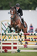 TALENT ridden by James Sommerville during the final jumping event at Bramham International Horse Trials 2016 at  at Bramham Park, Bramham, United Kingdom on 12 June 2016. Photo by Mark P Doherty.
