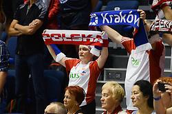 September 12, 2018 - Varna, Bulgaria - Cuba v Poland, pool D, during 2018 FIVB Volleyball Men's World Championship Italy-Bulgaria 2018, Varna, Bulgaria on September 12, 2018  (Credit Image: © Hristo Rusev/NurPhoto/ZUMA Press)