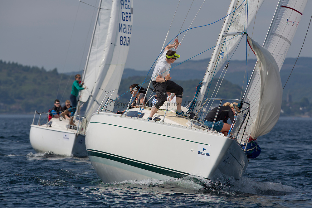 Silvers Marine Scottish Series 2017<br /> Tarbert Loch Fyne - Sailing<br /> <br /> K4294, Odyssey II, Harold Hood, RNCYC