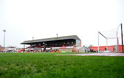General views inside the stadium- Mandatory by-line: Nizaam Jones/JMP- 26/01/2019 - FOOTBALL - LCI Rail Stadium -Cheltenham, England - Cheltenham Town v Macclesfield Town - Sky Bet League Two