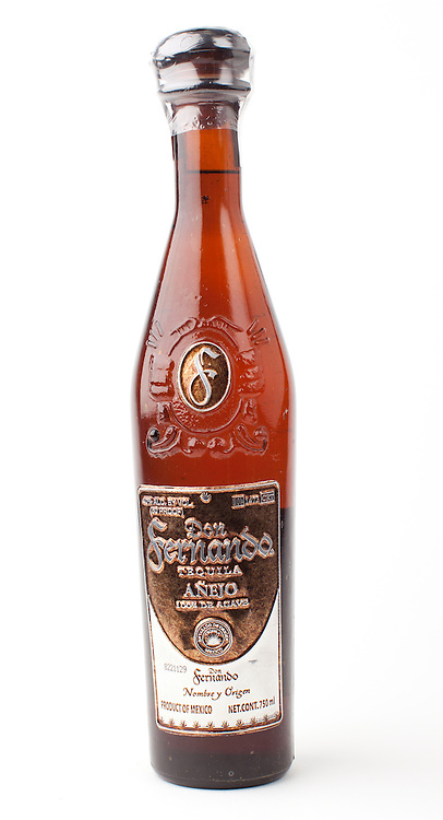 Don Fernando Tequila anejo -- Image originally appeared in the Tequila Matchmaker: http://tequilamatchmaker.com