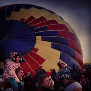Dawn Patrol. Albuquerque International Balloon Fiesta, Albuquerque, New Mexico.
