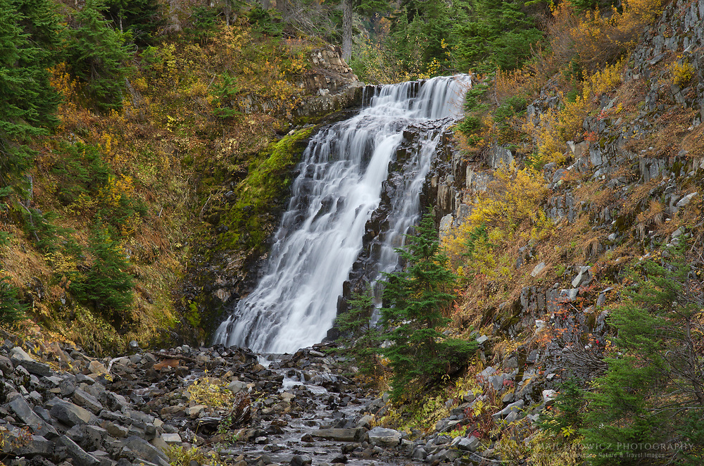 Galena Creek Falls (also known as Heather Meadows Falls), Heather Meadows Recreation Area, North Cascades Washington