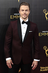.Derek Hough  attends  2016 Creative Arts Emmy Awards - Day 2 at  Microsoft Theater on September 11th, 2016  in Los Angeles, California.Photo:Tony Lowe/Globephotos