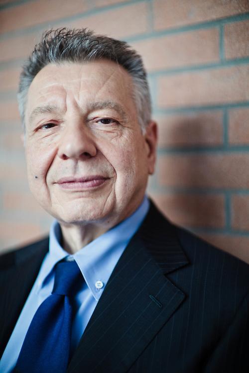 28 JUN 2011 - Zola Predosa (Bologna) - Claudio Levorato,.presidente del Consiglio di Gestione di Manutencoop Facility Management