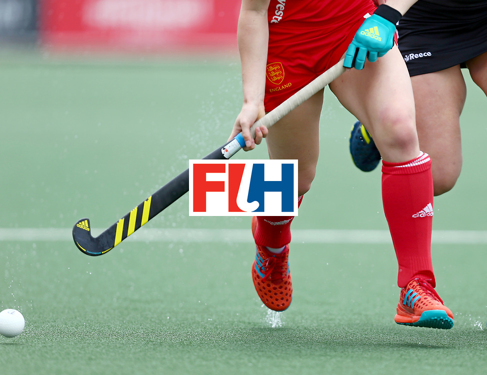 New Zealand, Auckland - 18/11/17  <br /> Sentinel Homes Women&rsquo;s Hockey World League Final<br /> Harbour Hockey Stadium<br /> Copyrigth: Worldsportpics, Rodrigo Jaramillo<br /> Match ID: 10293 - ENG vs GER<br /> Photo: (13) RAYER Elena