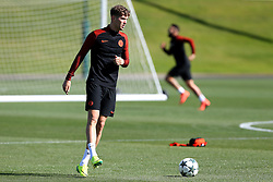 John Stones of Manchester City warms p - Mandatory by-line: Matt McNulty/JMP - 23/08/2016 - FOOTBALL - Manchester City - Training session ahead of Champions League qualifier against Steaua Bucharest