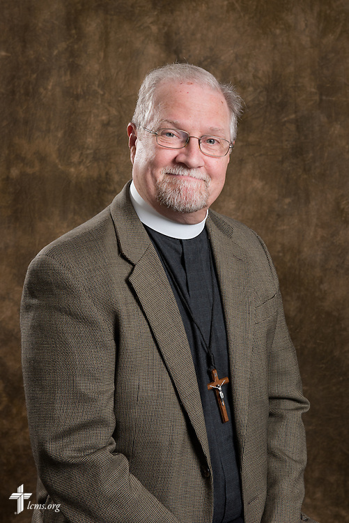 Headshot portrait of the Rev. John Fale, associate executive director of LCMS Mercy Operations, in the International Center studio of The Lutheran Church–Missouri Synod on Tuesday, Sept. 9, 2014, in Kirkwood, Mo. LCMS Communications/Erik M. Lunsford