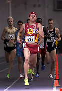 Feb 25, 2017; Seattle, WA, USA; Robert Ford of Southern California wins the 800m in 1:49.53 during the MPSF Indoor Championships at the Dempsey Indoor.