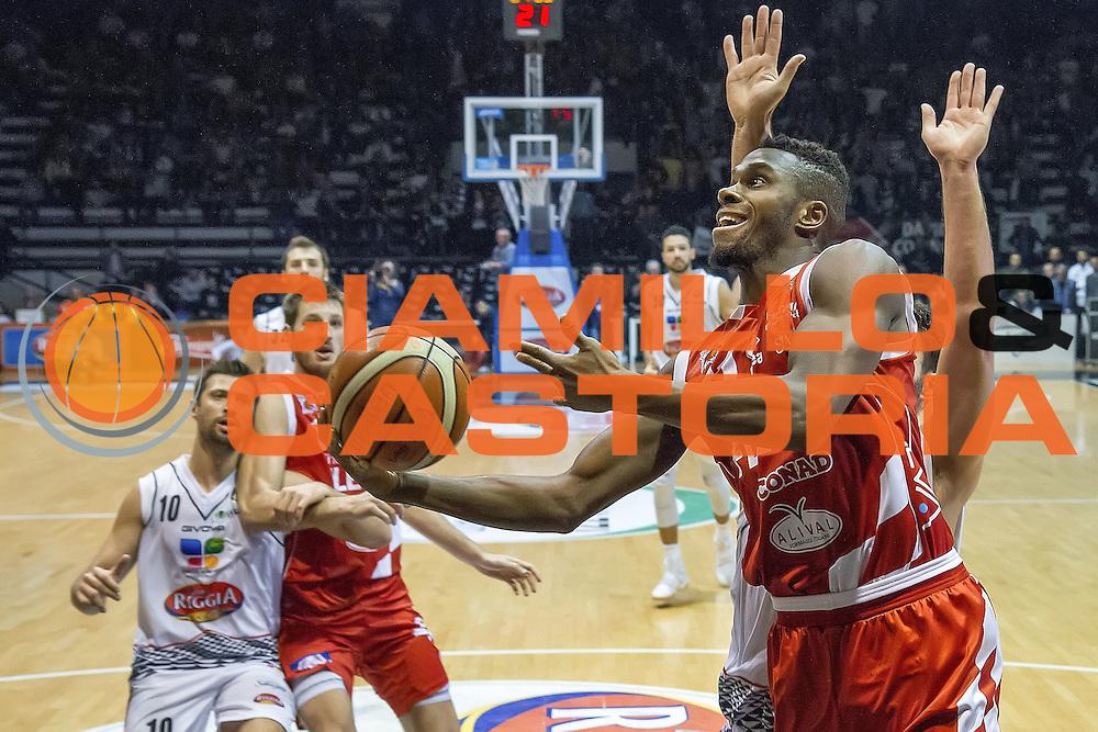 Eric Lombardi<br /> Pasta Reggia Caserta - The Flexx Pistoia<br /> Lega Basket Serie A 2016/2017<br /> Caserta 24/10/2016<br /> Foto Ciamillo-Castoria