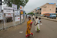 Indians women in Gurgaon, New Delhi's new CBD, an hour South of the city.