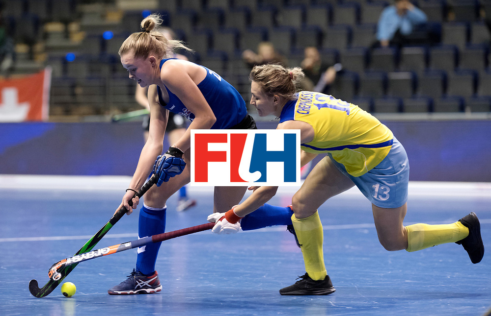 BERLIN - Indoor Hockey World Cup<br /> Women: United States - Kazakhstan<br /> foto: ZANOLLI Corinne.<br /> WORLDSPORTPICS COPYRIGHT FRANK UIJLENBROEK