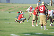 Lafayette High began football practice in Oxford, Miss. on Monday, August 1, 2011.