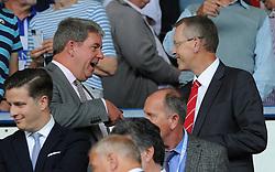 Bristol City Chief Executive John Pelling (right) at sheffield Wednesday - Mandatory byline: Dougie Allward/JMP - 07966386802 - 08/08/2015 - FOOTBALL - Hillsborough Stadium -Sheffield,England - Sheffield Wednesday v Bristol City - Sky Bet Championship