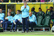 Norwich Manager Neil Adams during the Barclays Premier League match at Carrow Road, Norwich<br /> Picture by Paul Chesterton/Focus Images Ltd +44 7904 640267<br /> 11/05/2014