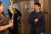 JAMES BLUNT, The launch of Beaver Lodge in Chelsea, a cabin bar and dance saloon, 266 Fulham Rd. London. 4 December 2014