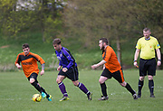 - Dundee Argyle (purple) v Osnaburg (orange) during the Association Cup semi final  at Finlathen, Dundee, Photo: David Young<br /> <br />  - &copy; David Young - www.davidyoungphoto.co.uk - email: davidyoungphoto@gmail.com
